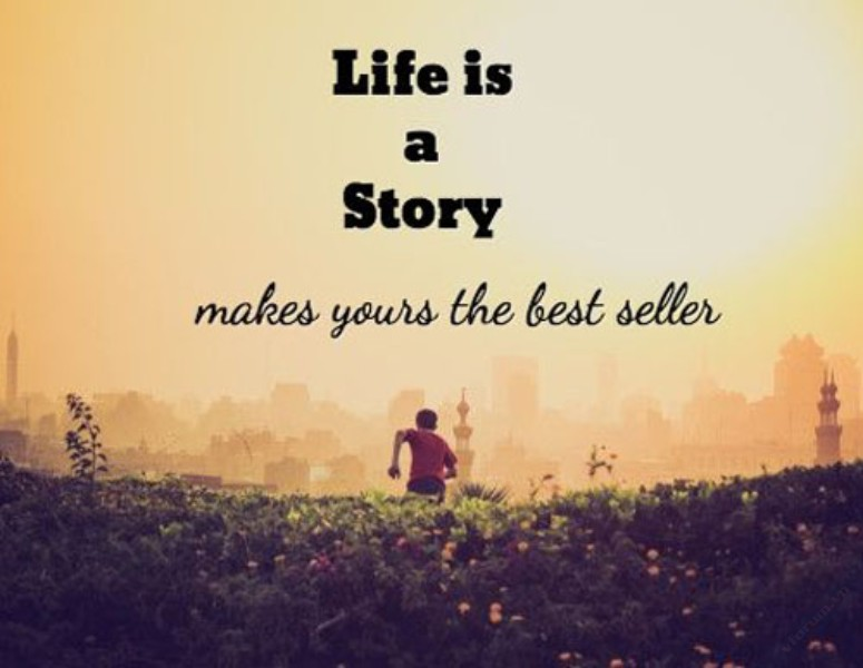 life is a story make your the best seller
