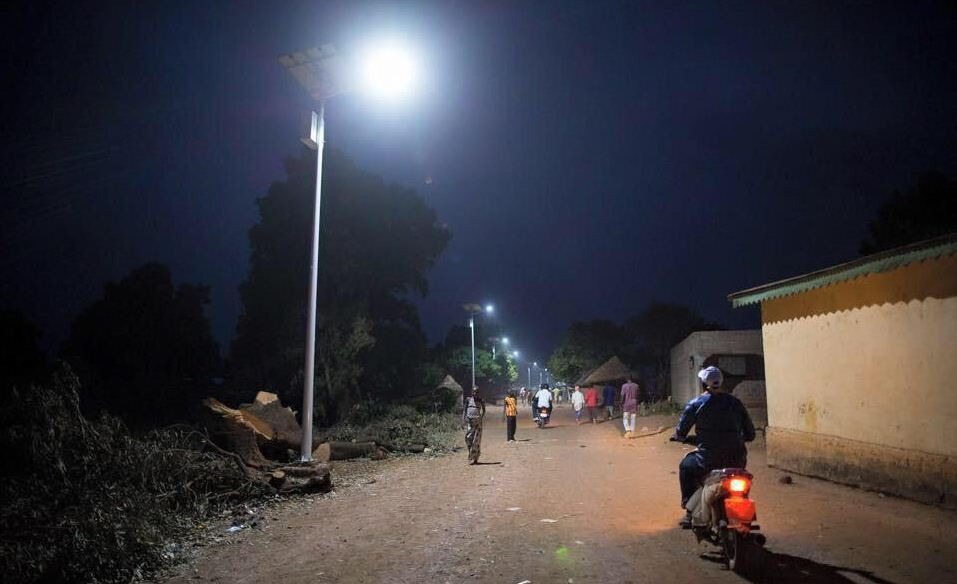 Akon Solar Electricity in Africa image