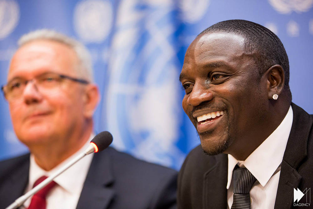 Akon Solar Electricity in Africa image (1)