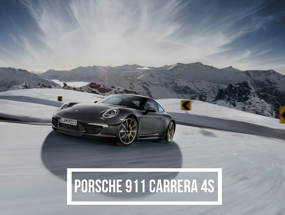 Best Luxury Cars For Winter Driving - Porsche 911 Carrera 4S