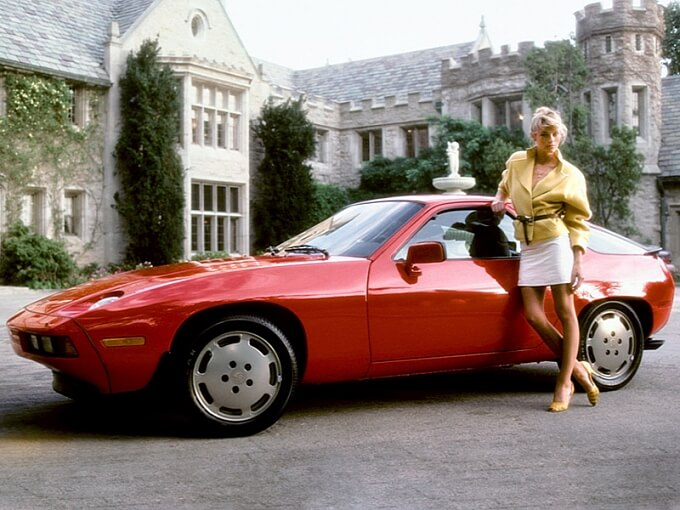 In these Vintage Shoots Playboy Models Are Posing Next to Luxury Cars But No One Is Naked