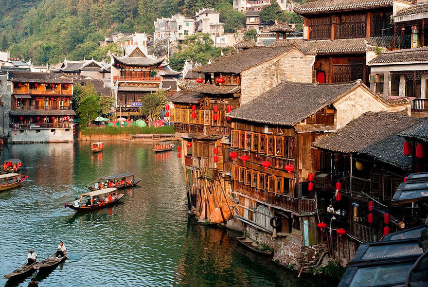 Fenghuang County by Yves Andre