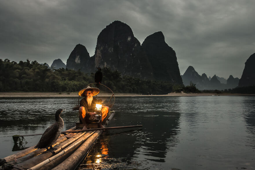 The Dying Art Of Fishing With Cormorants, Yangshuo