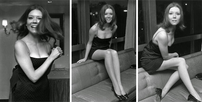 1967- British Actress Diana Rigg, Also Known As Olenna Tyrell From Game Of Thrones