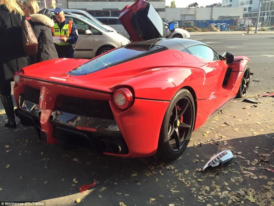 This Driver Crashes $1.4M Ferrari Just Moments After Leaving the Dealership
