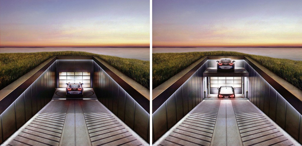 This House in the Hill by Only Victories Gives Your Car A Seaside View