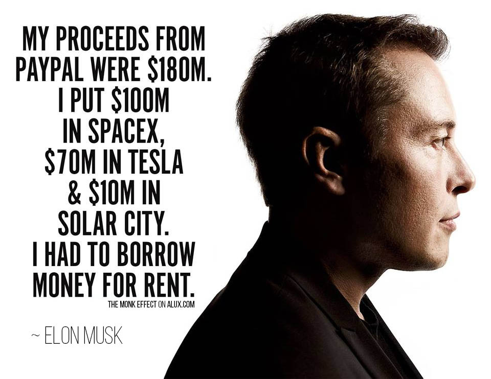 the monk effect elon musk quote