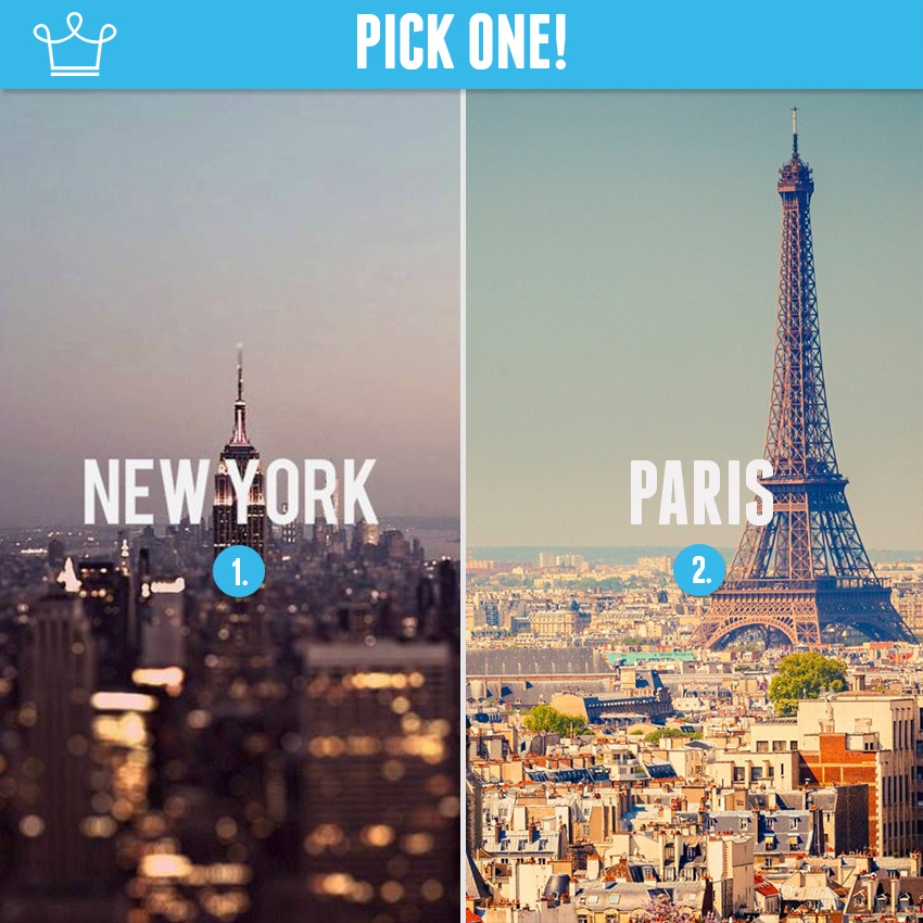 new york or paris alux