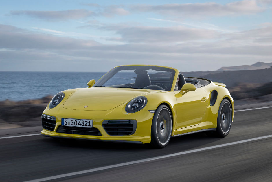 200,000 Porsche 2017 911 Turbo and Turbo S Cabriolet (1)