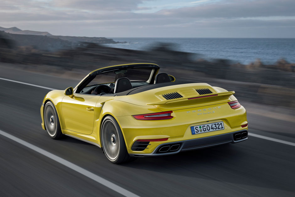 200,000 Porsche 2017 911 Turbo and Turbo S Cabriolet