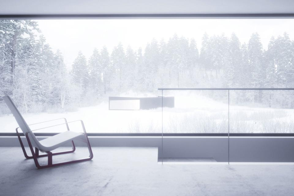 Geometric Winter House by WOJR in New York (4)