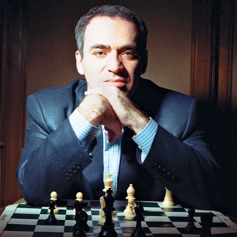 Most Intelligent People of The World - Garry Kasparov