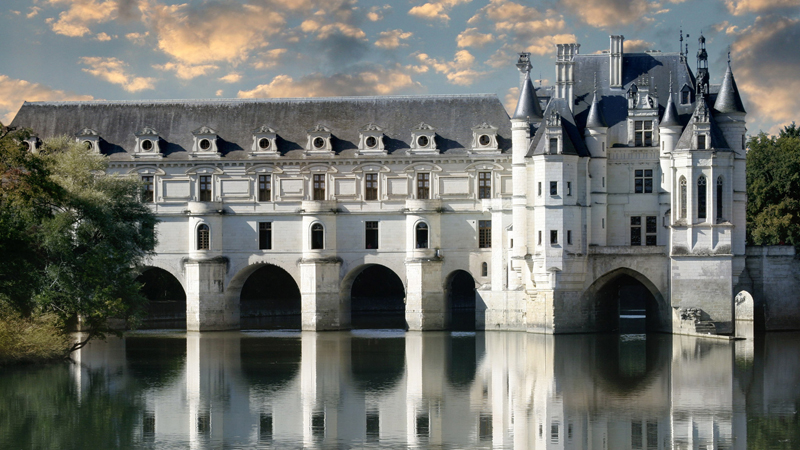 10 Most Beautiful European Castles - Château de Chenonceau