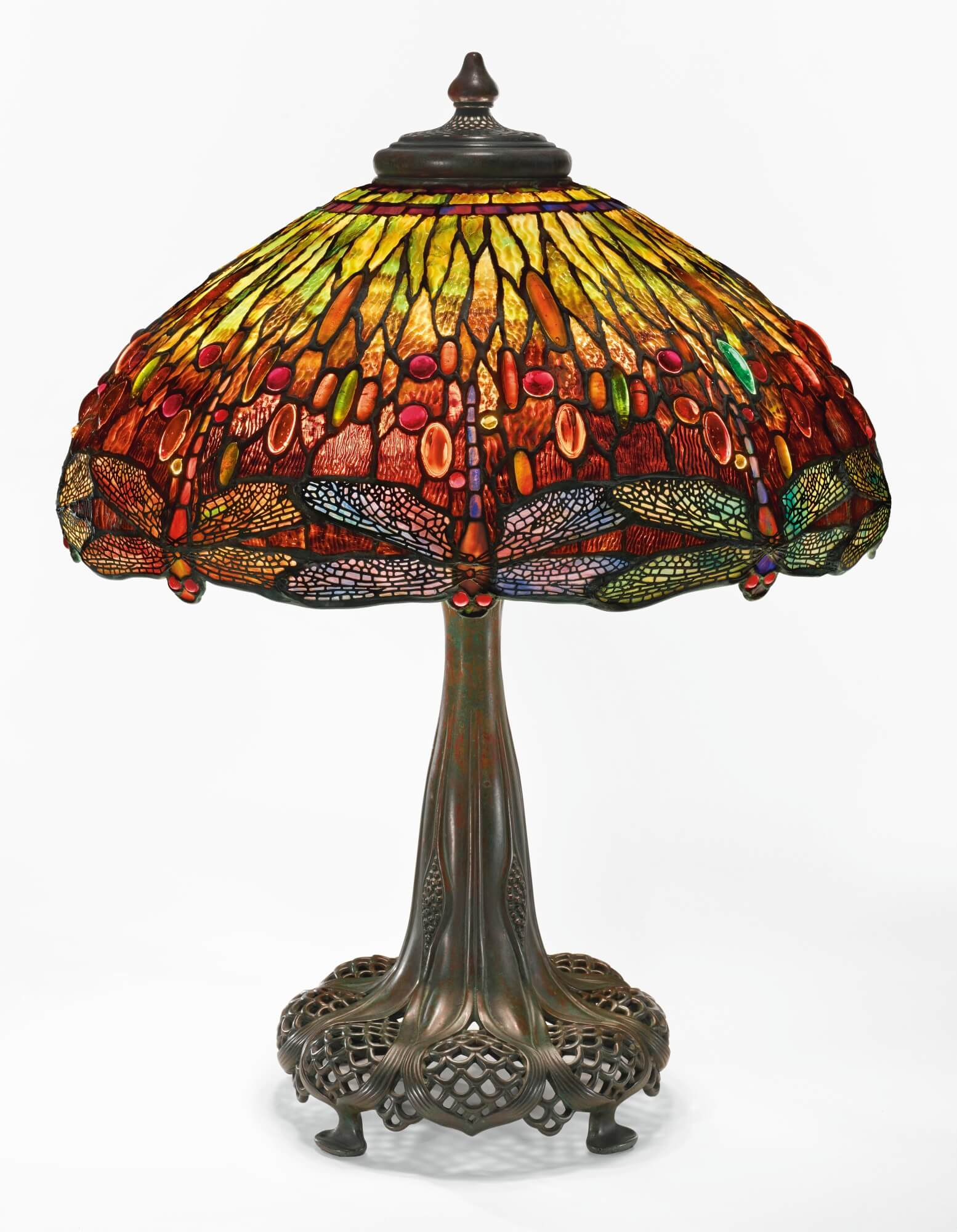 #2 Dragonfly Tiffany Table Lamp | Most Expensive Lamps In The World | Image  Source