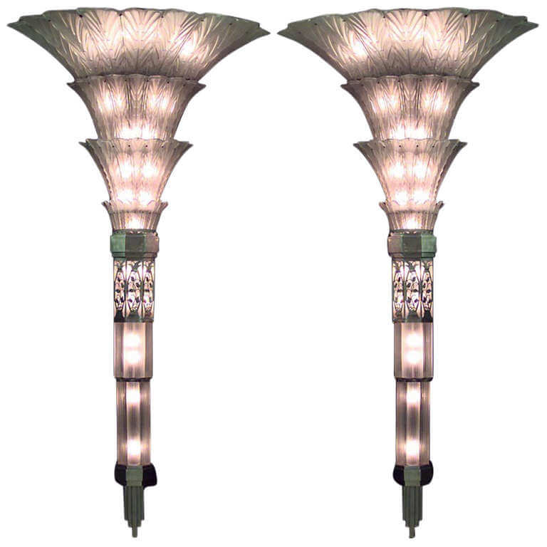 #9 Sabino Art Deco Wall Sconces | Most Expensive Lamps In The World | Image Source: lifehack.org