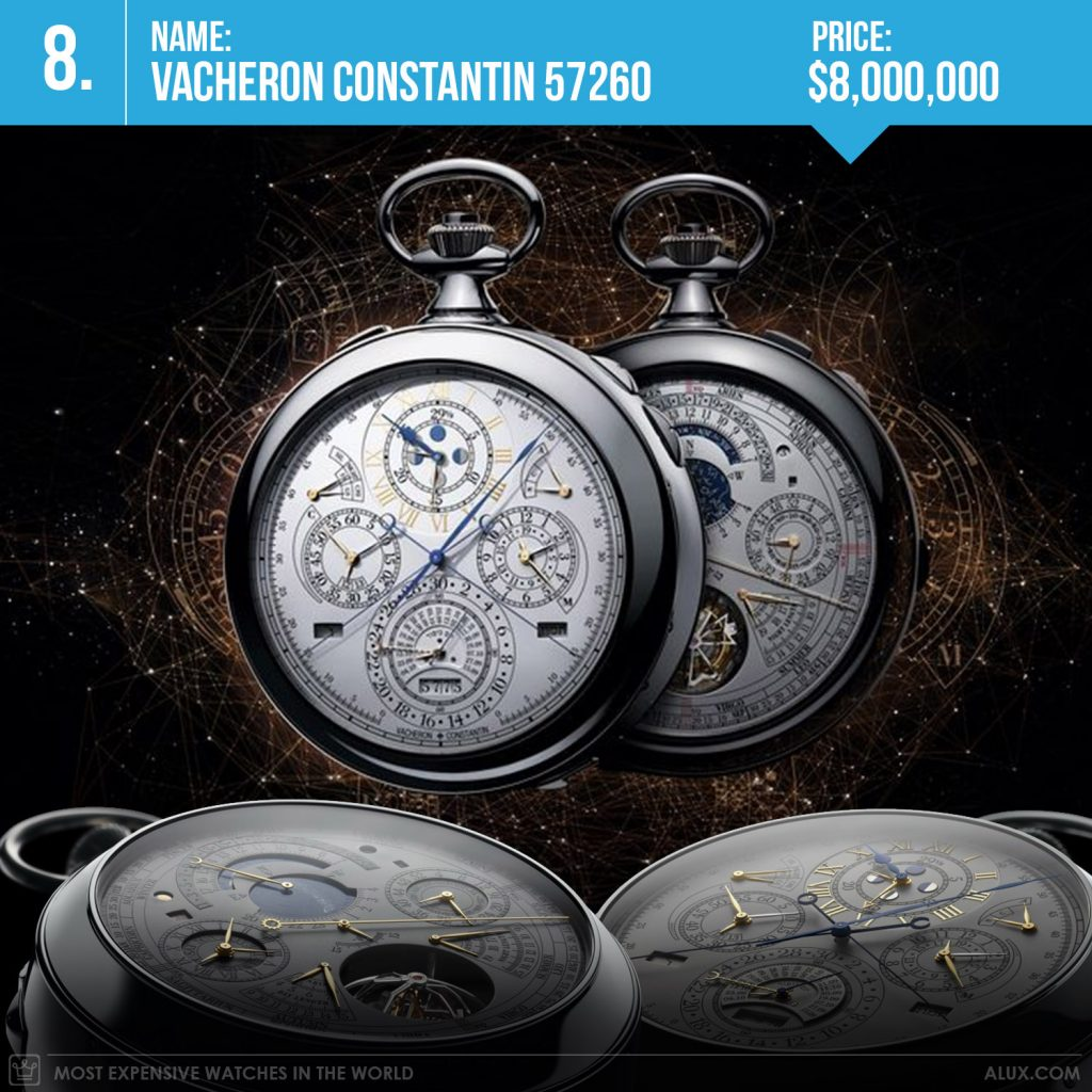 Most expensive watches in the world 2017 vacheron constantin 57260 most complications price alux