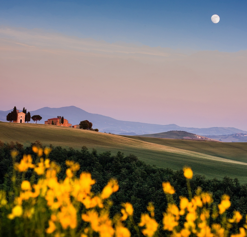 luxury pictures of tuscany countryside view alux