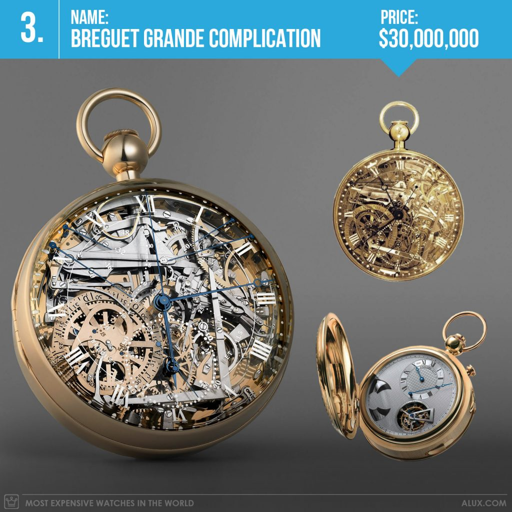 most expensive watches in the world 2019 breguet grande complication marie antoinette price alux