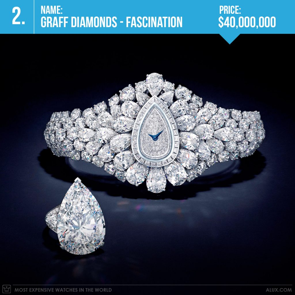 most expensive watches in the world 2019 graff diamonds fascination price alux