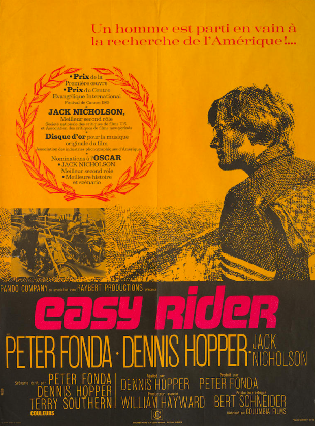 stylish vintage racing posters alux (11) easy rider poster
