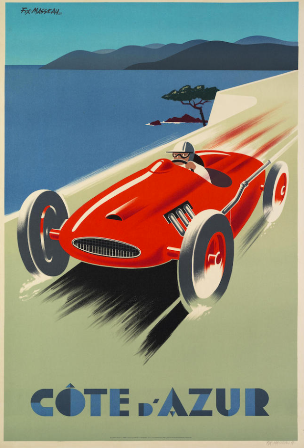 Vintage Racing Posters to be Auctioned in Paris - Alux.com
