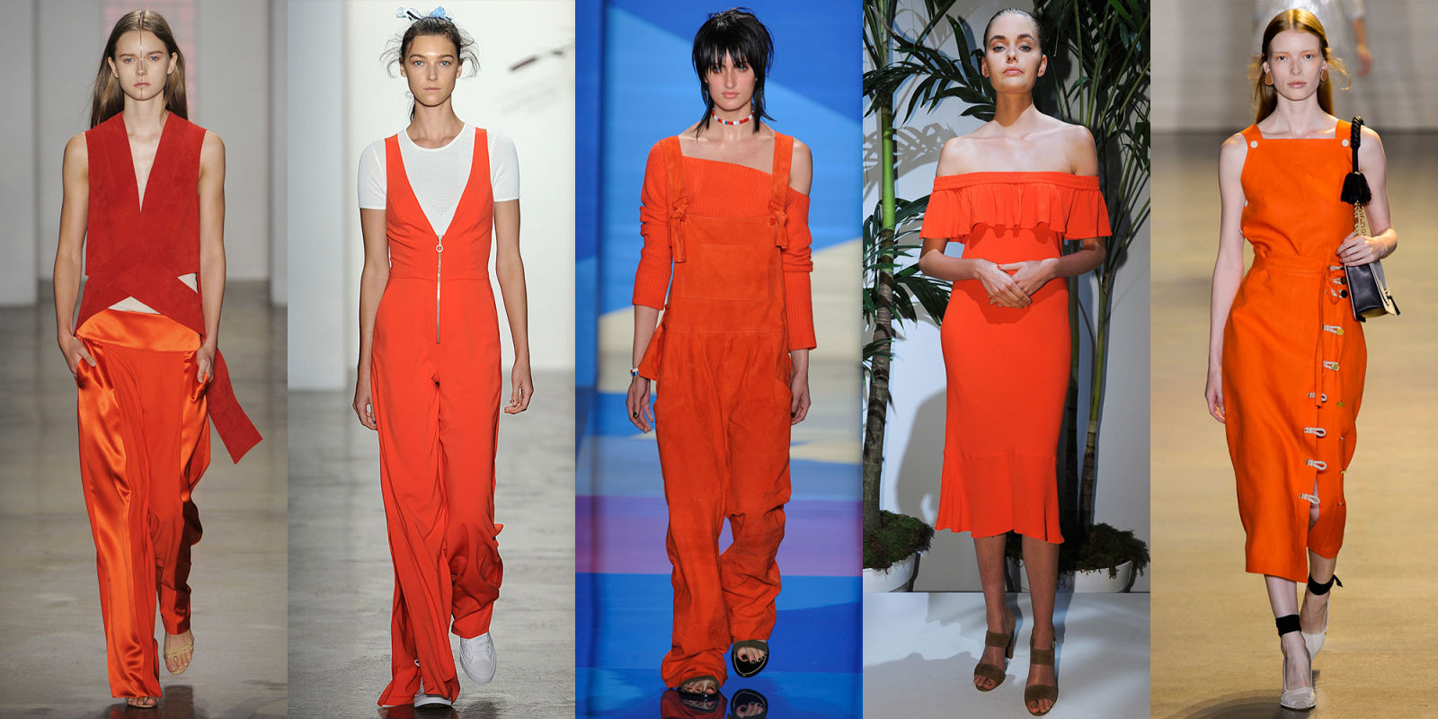Fashion Trends for Spring 2016|From left to right: Dion Lee, Adam Selman, Paul Smith or Altuzzara