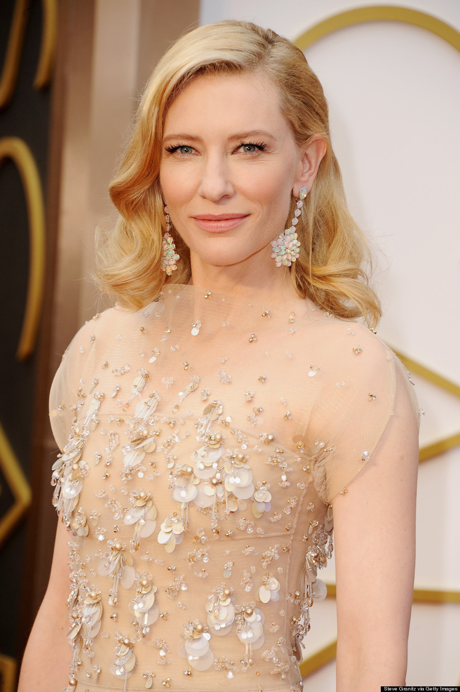 Most Expensive Jewelry Brands | Cate Blanchett wearing jewelry by Chopard