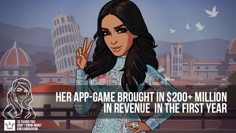 15 things you didn't know about kim kardashian game app money earnings