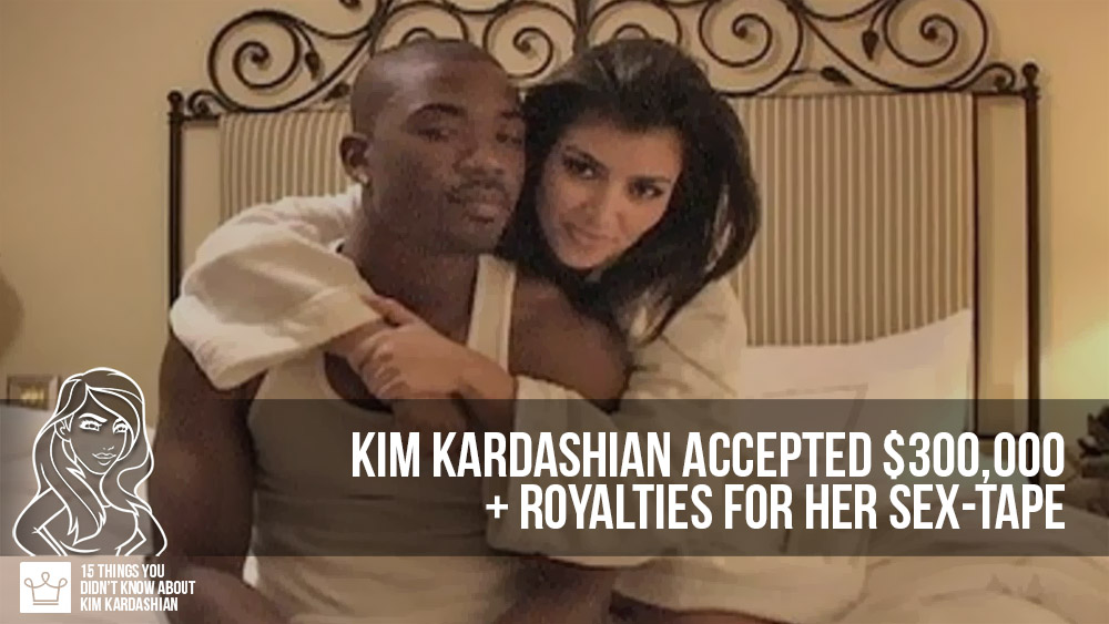 15 things you didn't know about kim kardashian how much money did kim get on her sex tape