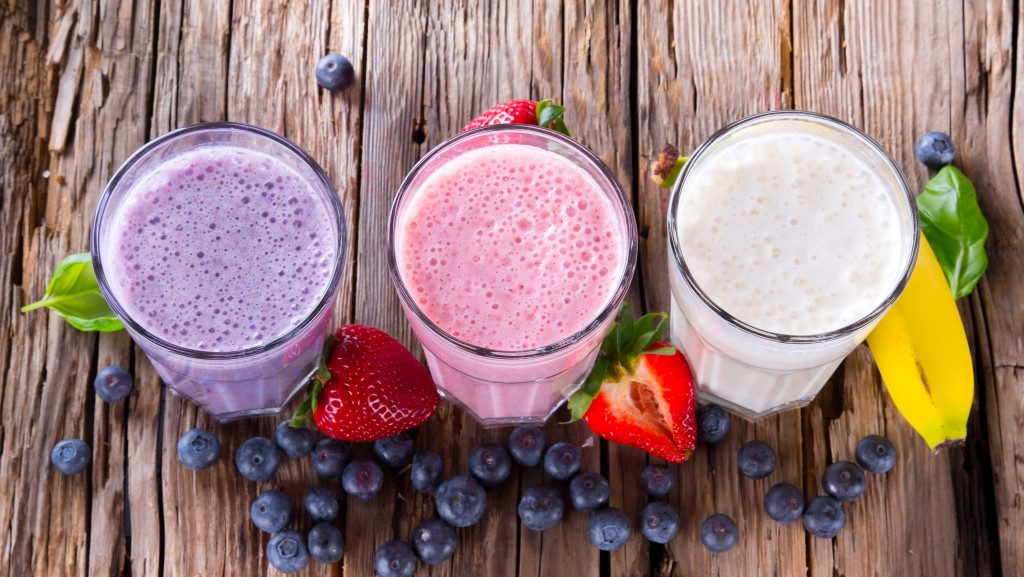 Motivation to get fitter: TOP 10 Ideas smoothies