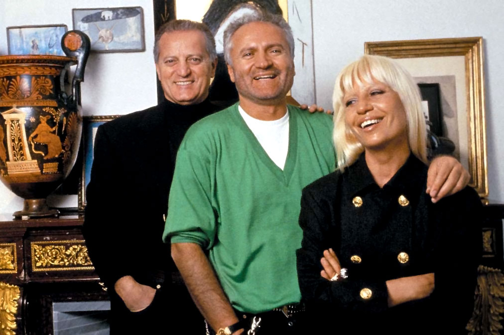 15 Things You Didn't Know About Gianni Versace | Santo, Gianni and Donatella