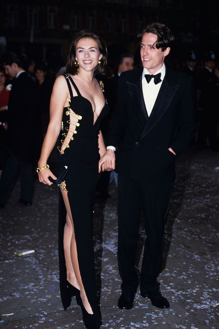 15 Things You Didn't Know About Gianni Versace | Liz Hurley and Hugh Grant