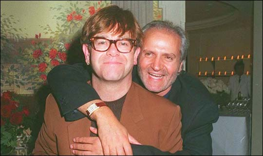 15 Things You Didn't Know About Gianni Versace | Sir Elton John and Gianni
