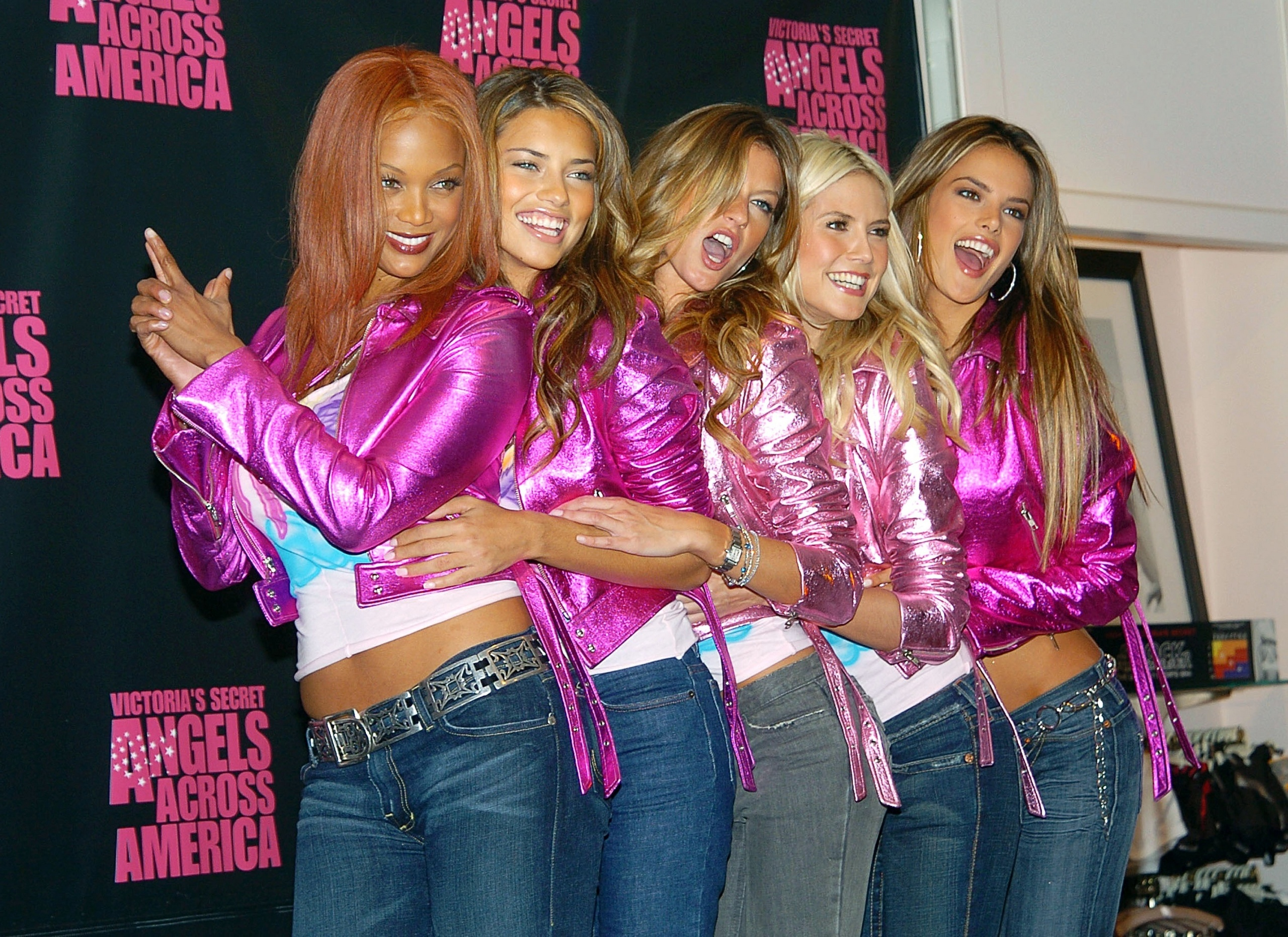 15 Things You Didn't Know About Victoria's Secret | From left to right: Tyra Banks, Adriana Lima, Gisele Bündchen, Heidi Klum and Alessandra Ambrosio
