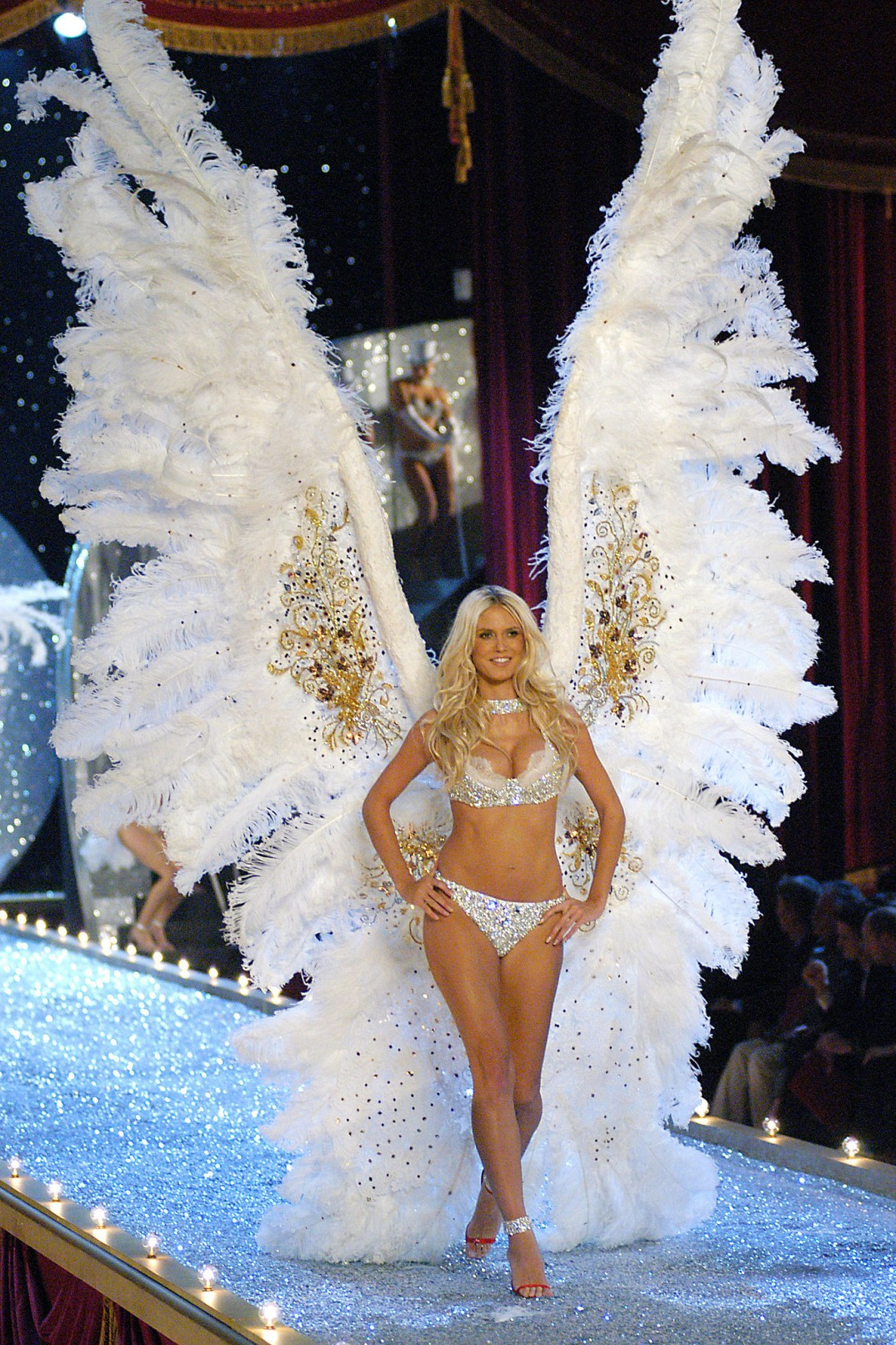 15 Things You Didn't Know About Victoria's Secret | Heidi Klum wearing the 12 feet high wings
