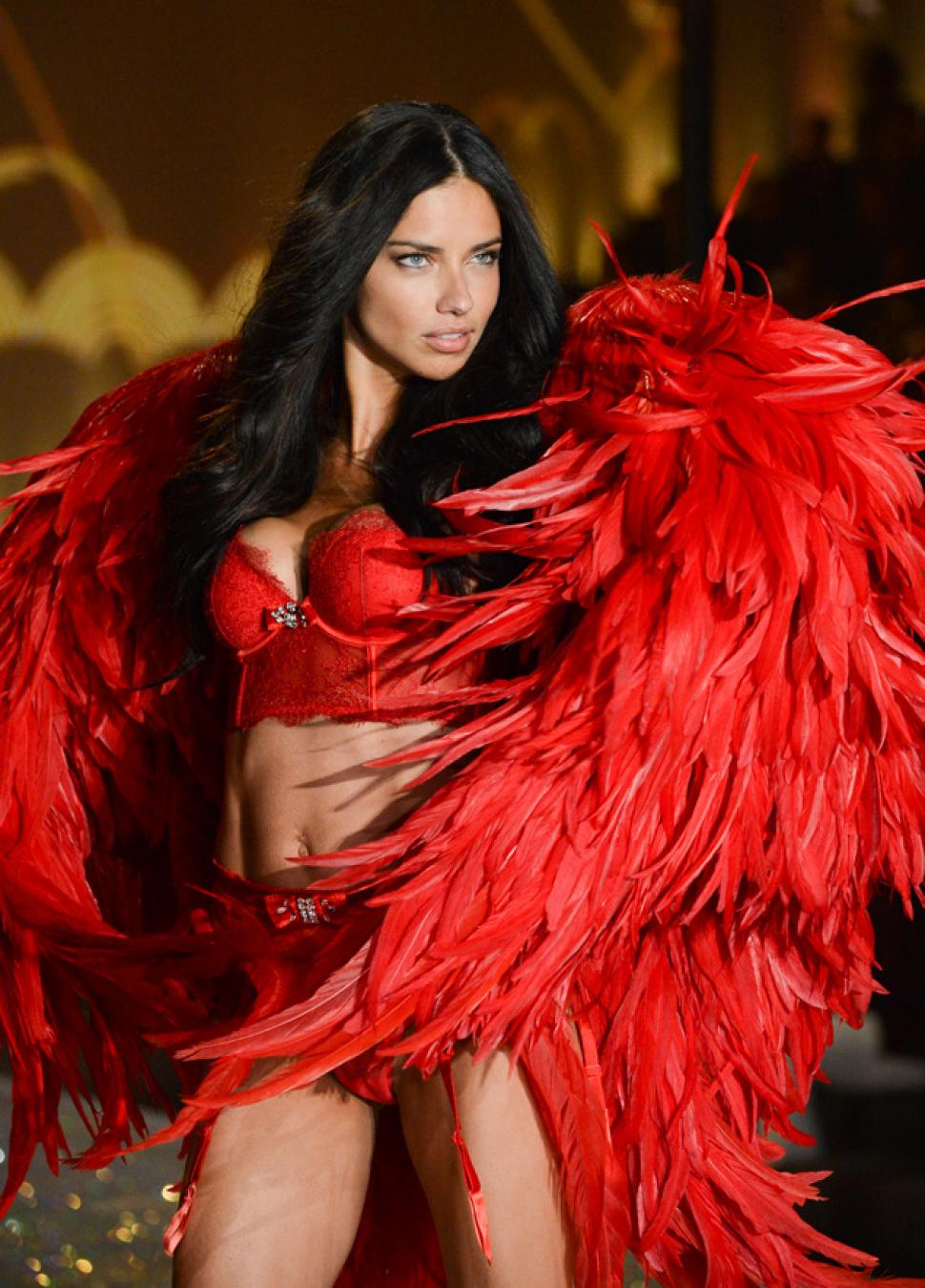 15 Things You Didn't Know About Victoria's Secret | Adriana Lima Adrian Lima, Victoria's Secret Fashion Show, 2013