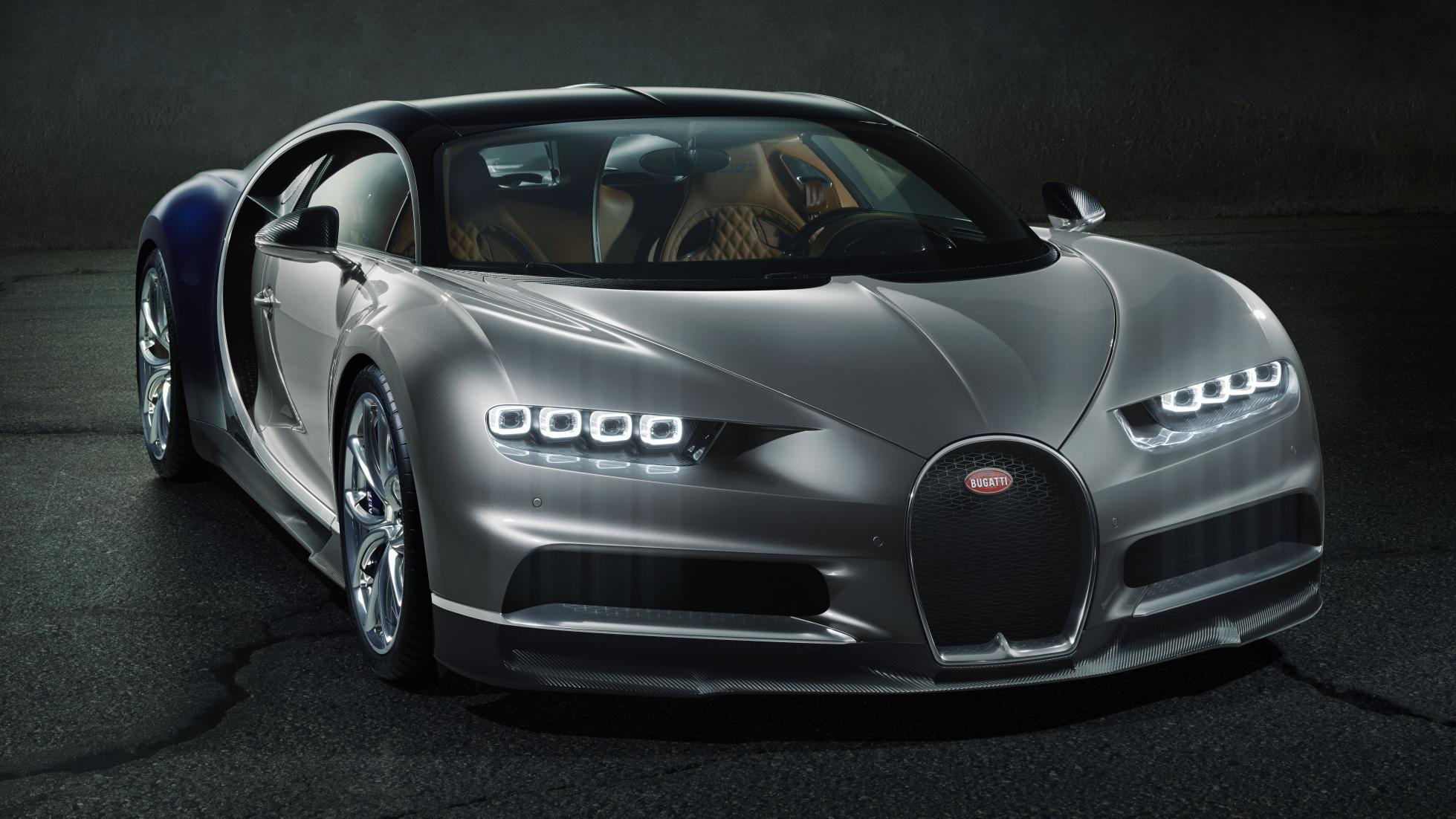 10 Things You Must Know About The New Bugatti Chiron | Front View of Bugatti Chiron