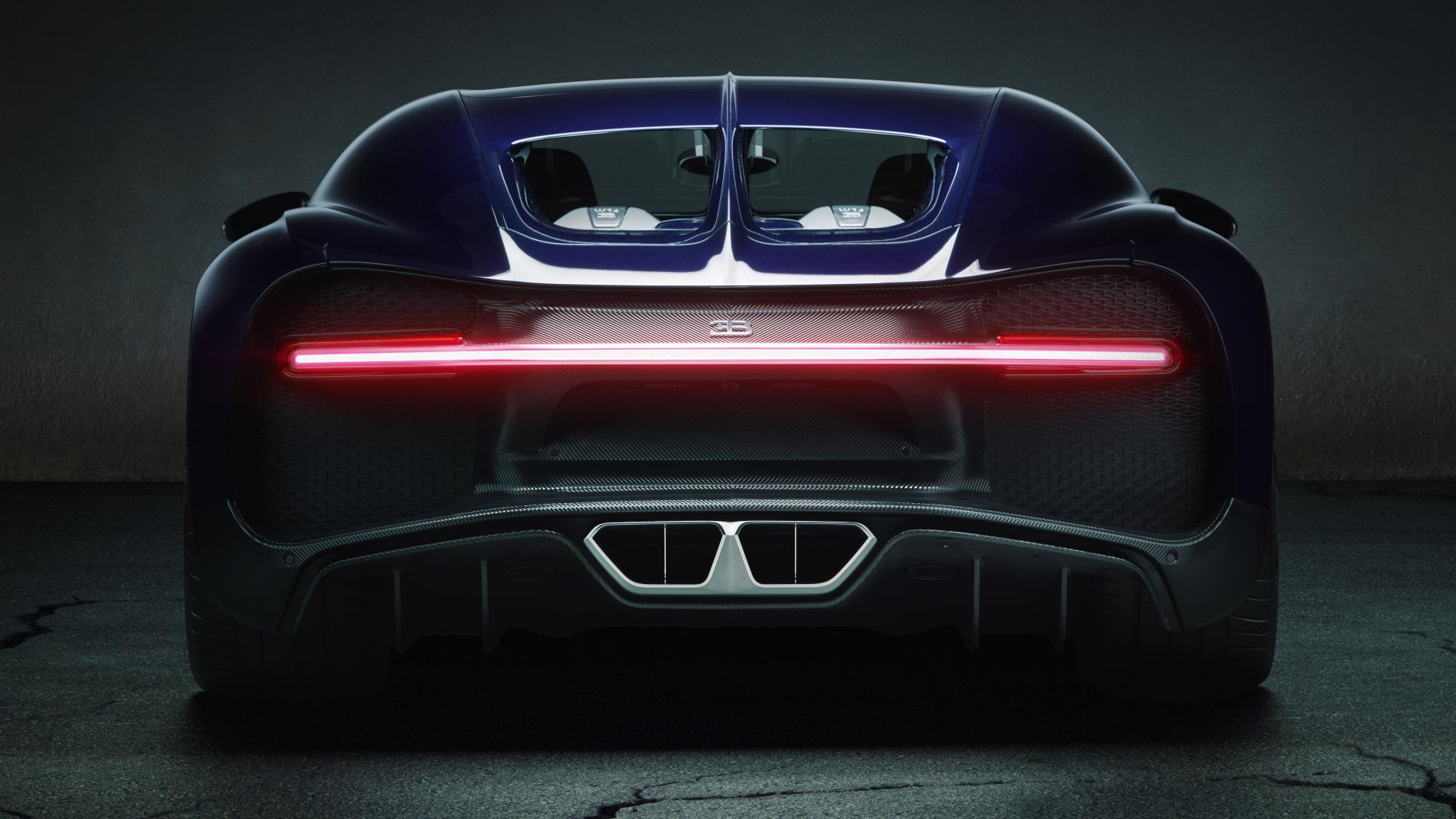10 Things You Must Know About The New Bugatti Chiron | Bugatti Chiron's backlight