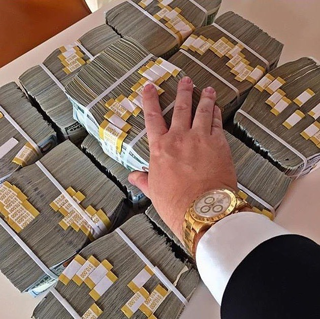 When you realize a million dollars ain't really that much when you look at it!
