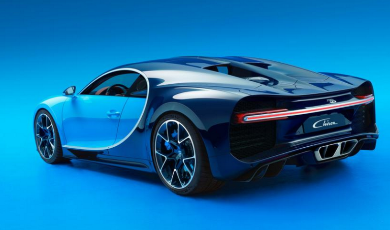 10 Things You Must Know About The New Bugatti Chiron | Rear view