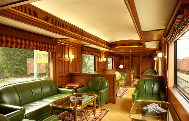 10 Fascinating Facts About The Maharajas' Express In India | Interiors of the Maharajas' Express