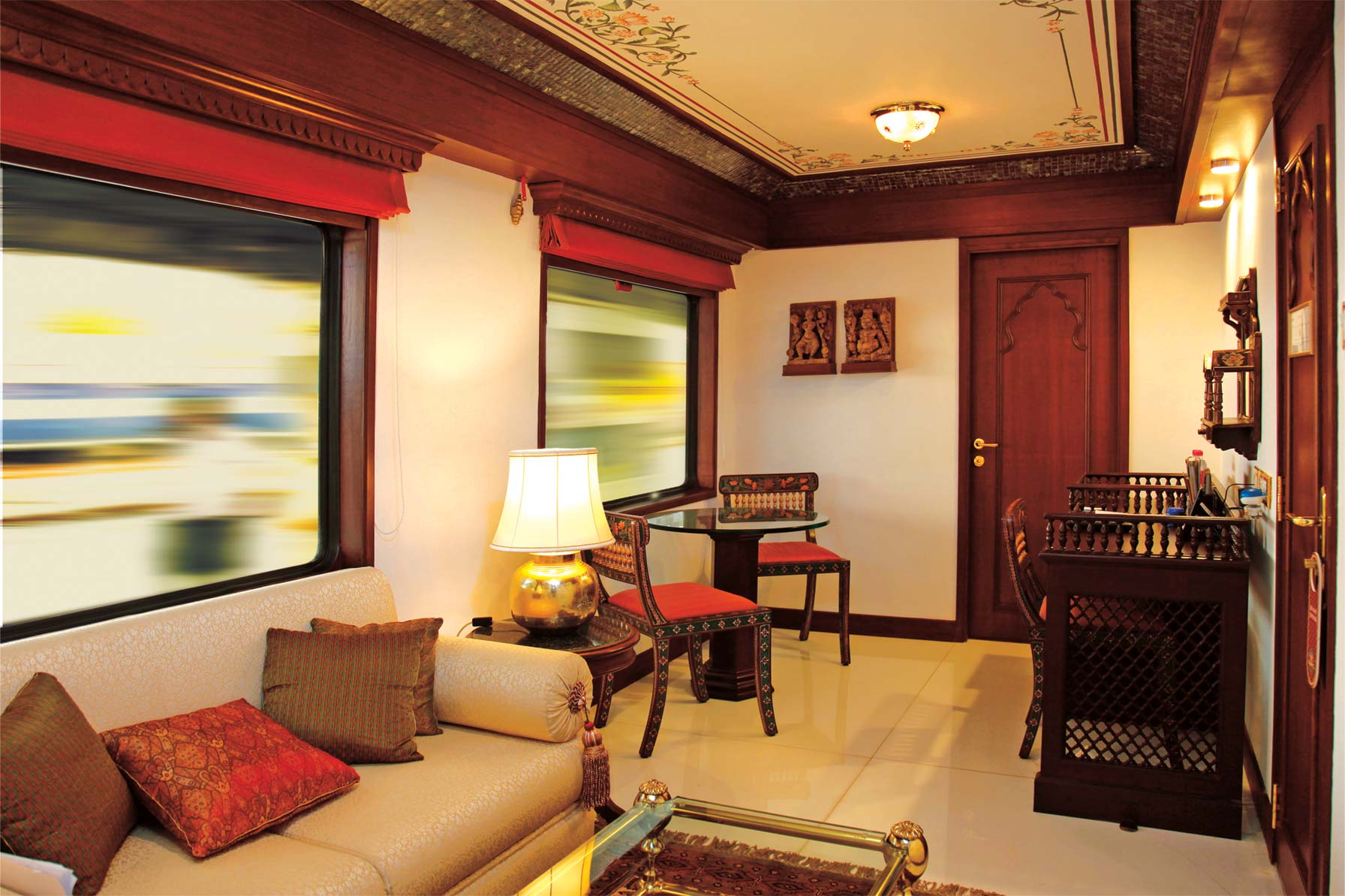 10 Fascinating Facts About The Maharajas' Express In India | Maharajas' Express Suite