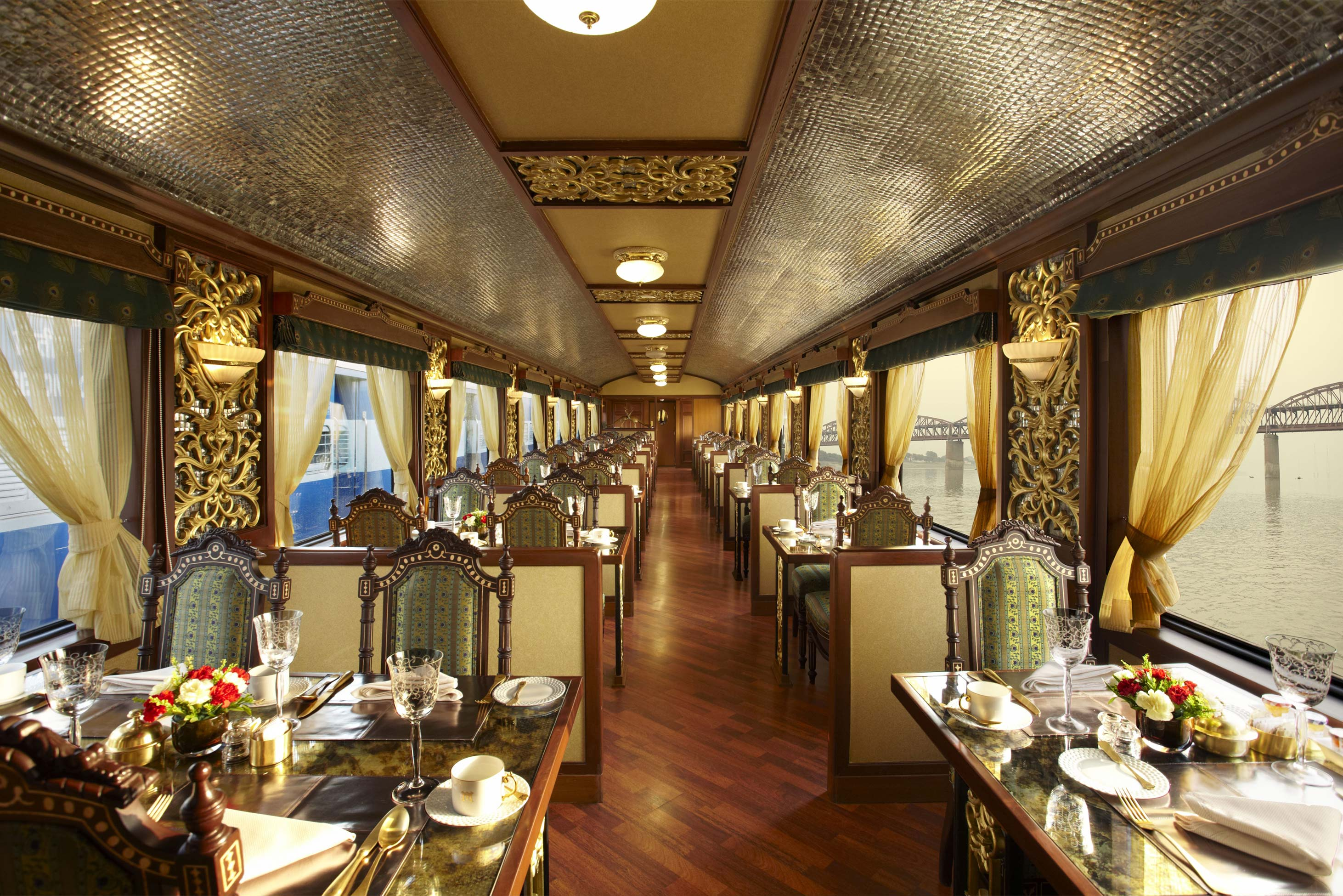 10 Fascinating Facts About The Maharajas' Express In India | The Mayur Mahal coach