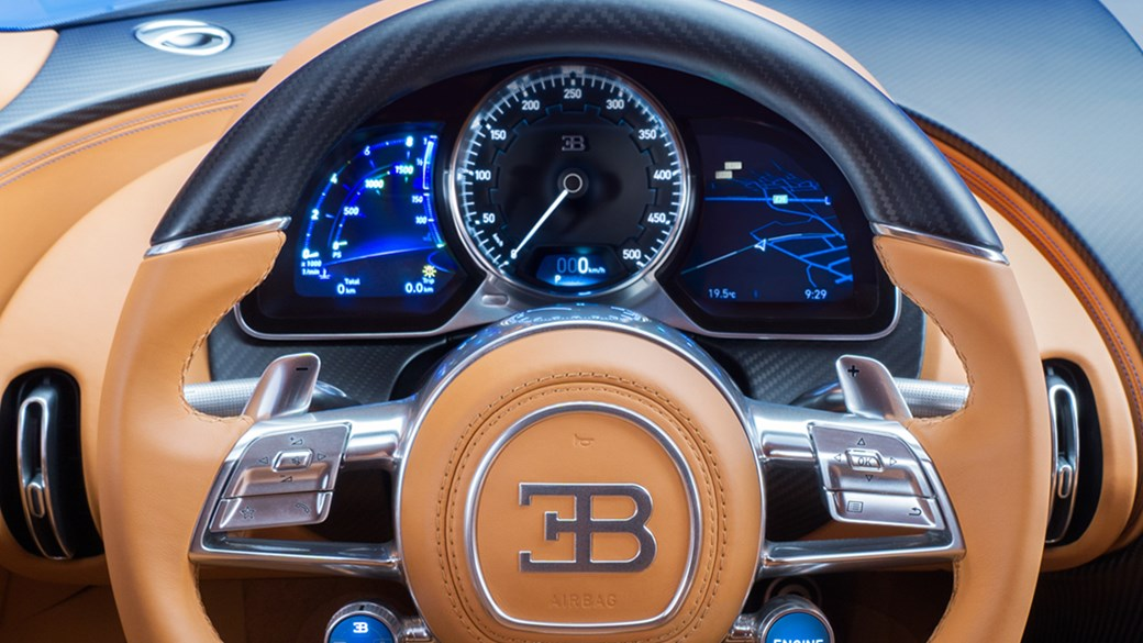 10 Things You Must Know About The New Bugatti Chiron | Bugatti Chiron's Speedometer