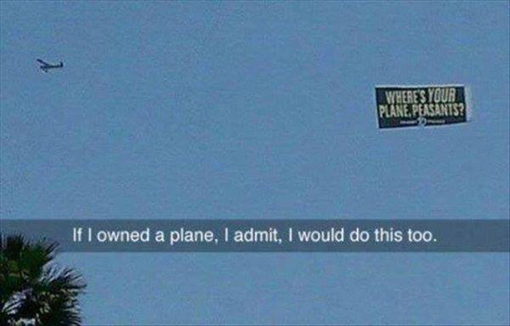 owning a plane