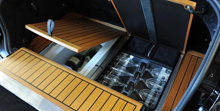 15 Things You Didn't Know About Rolls-Royce | Champagne cooler inside the car