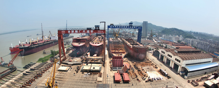 Inside The Vivacious Titanic II | CSC Jinling shipyard in China