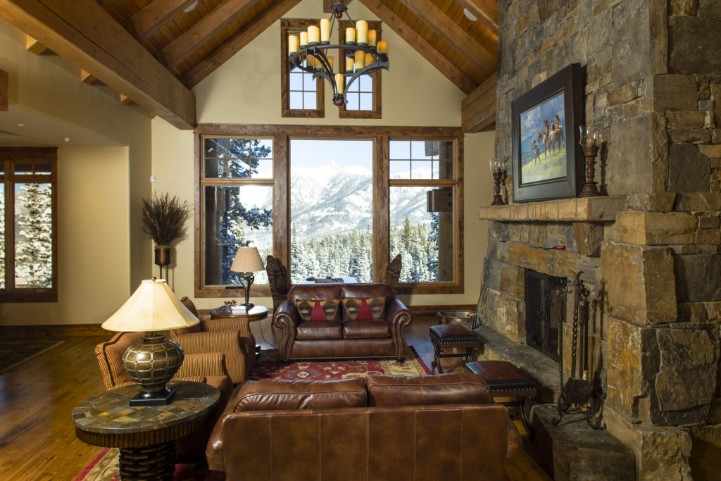 Kardashian's favourite luxury resorts Montana chateau inside