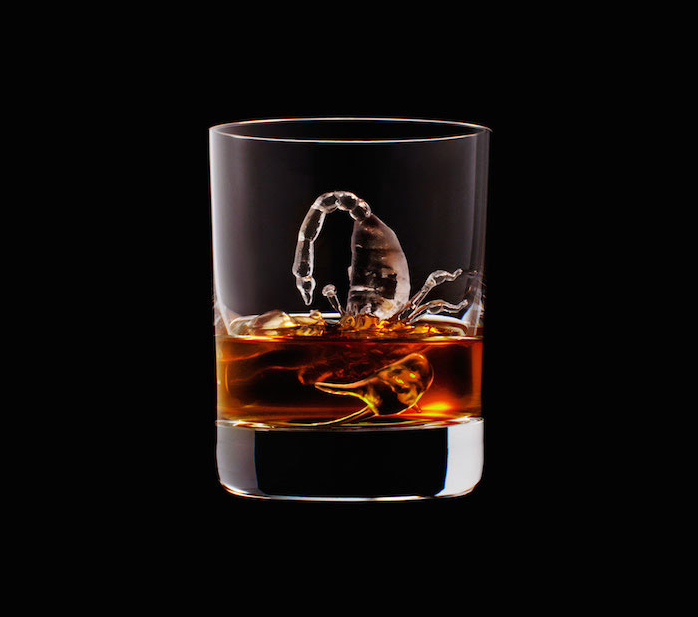 Luxury Ice Cube Sculptures from Japan scorpion