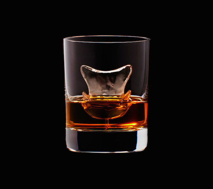 Luxury Ice Cube Sculptures from Japan chair